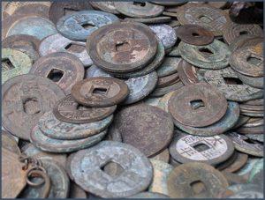 anciennes monnaies chinoises