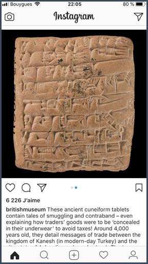 Instagram histoire de la monnaie platon contre aristote