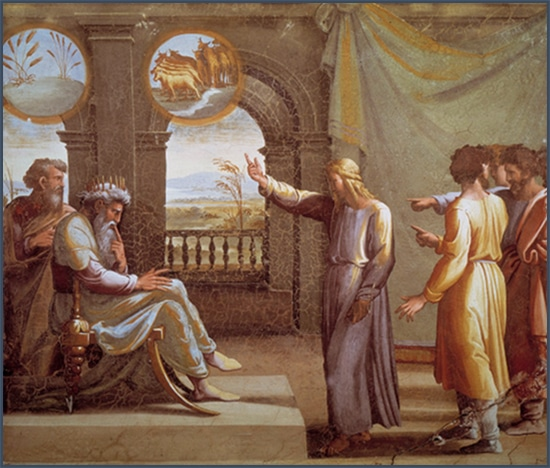 Joseph explique à Pharaon la politique contracyclique