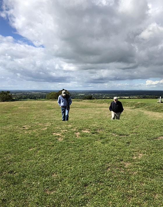 Bill Bonner - colline de Tara - Irlande