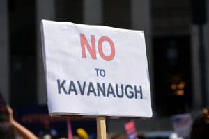 No to Kavanaugh Cour suprême US
