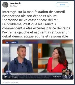 Interview - Besancenot - NPA - BFMTV