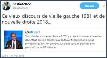 tweet - critique - François Hollande