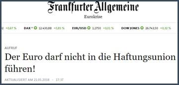 UE - Allemagne - euro - 154 professeurs d'économie contre Macron et Jean-Claude Juncker