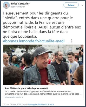 polémique - Le Média - La France Insoumise
