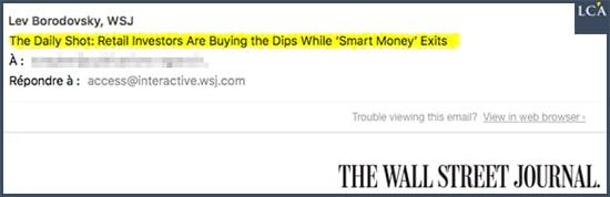 mail Wall Street Journal bulle krach
