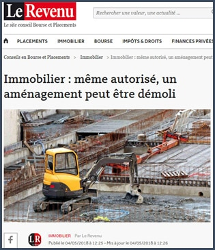 article Immobilier Le Revenu