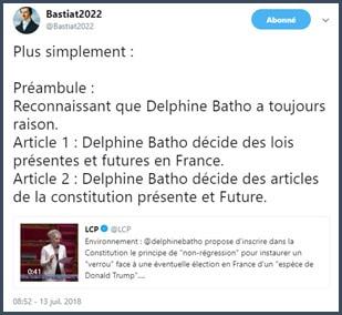 tweet Daniel Tourre Delphone Batho