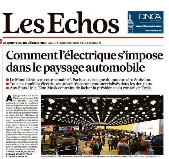 Salon automobile de Paris - Les Echos