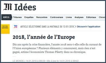2018 - Union européenne