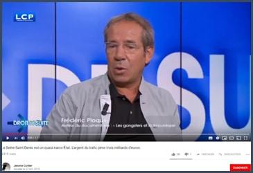 Frédéric Ploquin, auteur du documentaire « Les gangsters et la République »