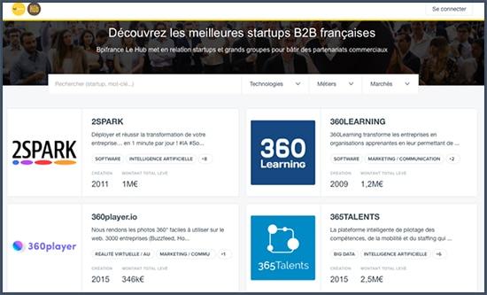 BPI France - Hub - startup B2B