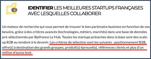Hub è BPI France - investissemnt - start-up