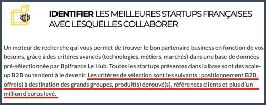 Hub è BPI France - investissemnt - start-up