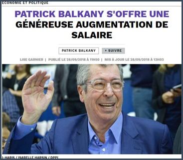 polémique - salaire - Balkany