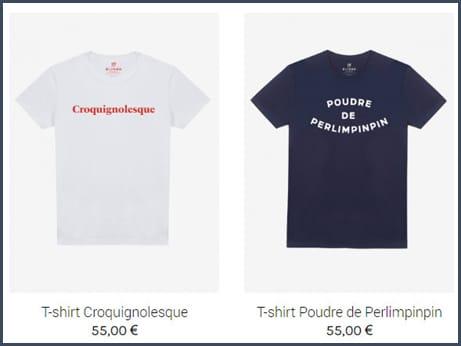 boutique de l'Elysée - t-shirt