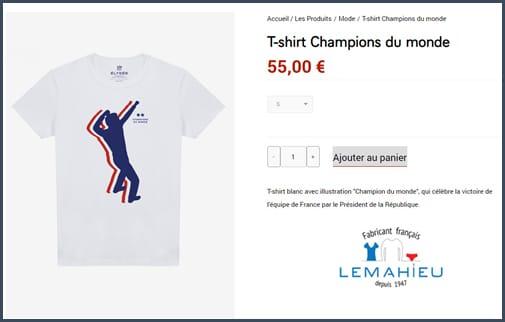 t-shirt - lemahieu