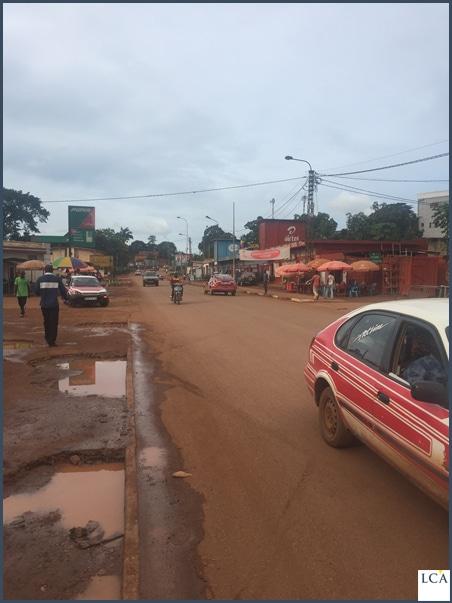 Les Champs-Elysées de Dolisie   - Congo