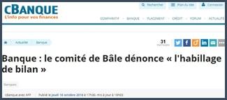 cBanque - comité de Bâle
