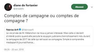 polémique - comptes de campagne - Mélenchon