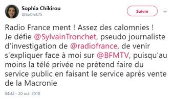 Sophia Chikirou - Radio France - Sylvain Tronchet