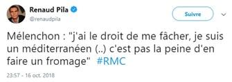 tweet Jean-Luc Mélenchon