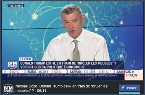 Nicolas Doze - BFM Business - Trump