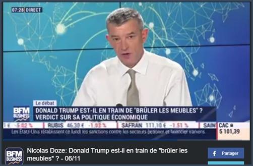 Nicolas Doze - BFM Business - Trump