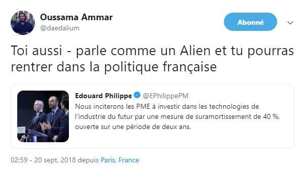 Twitter - Edouard Philippe