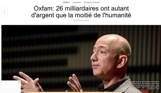 Oxfam - Jeff Bezos
