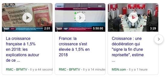 France - croissance - BFM TV - RMC