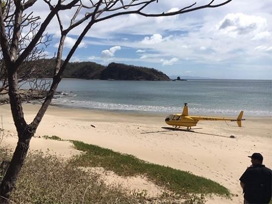 hélicoptère - Bill Bonner - Nicaragua