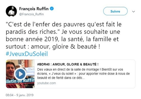 François Ruffin - pauvres - riches