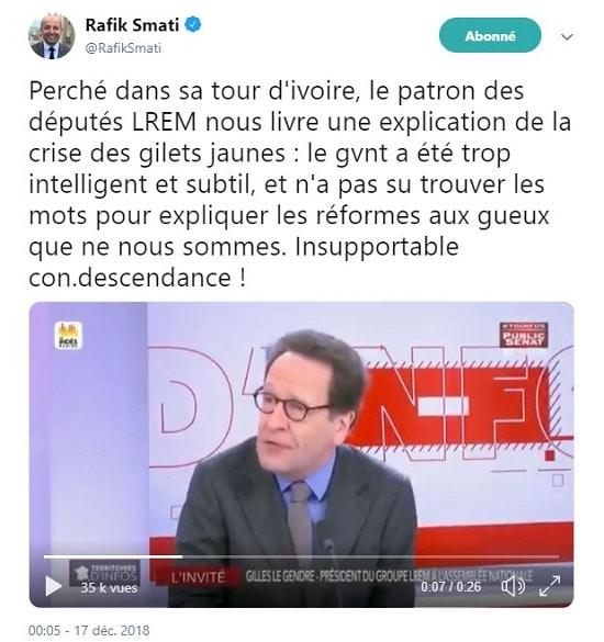 Gilles Legendre - LREM