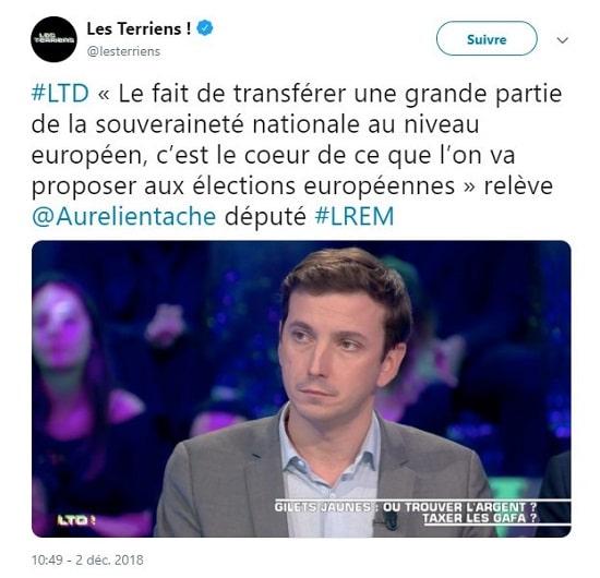député LREM Aurélien Taché