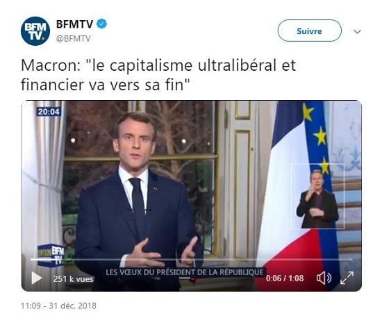 Macron - capitalisme