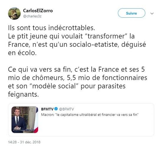 modèle social - France - Macron - chômage