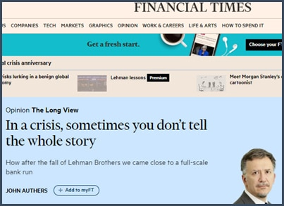 John Authers - Financial Times