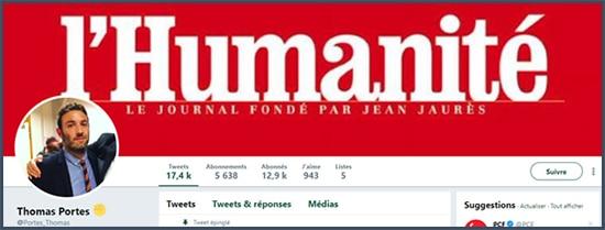 L'Humanité - PCF - Thomas Portes