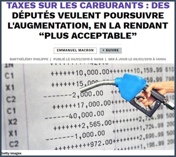 taxe carburant