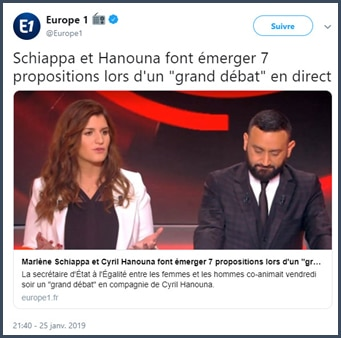 Marlène Schiappa - Cyril Hanouna