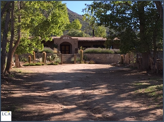 Entrée du ranch