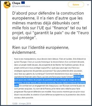 chepa défendre construction européenne
