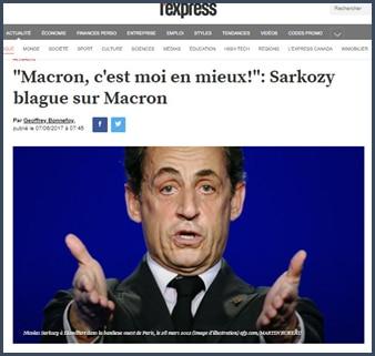 Sarkozy Macron moi en mieux