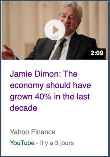 Jamie Dimon économie américaine
