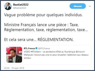 bastiat2022 vague problème taxe réglementation