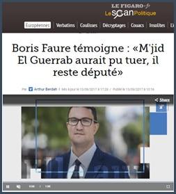 Boris Faure dit Mjid El Guerrab aurait pu tuer reste député