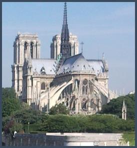 Notre-Dame de Paris vue de l'Est