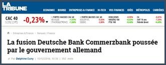 Fusion Deutsche Bank