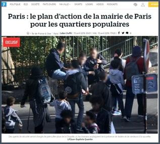 Le plan d'action de la mairie de Paris pour les quartiers populaires